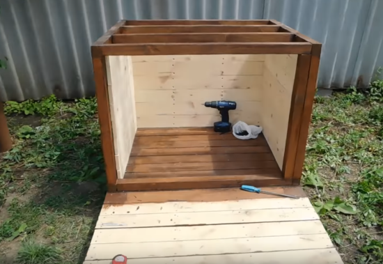 Строим будку для собаки своими руками